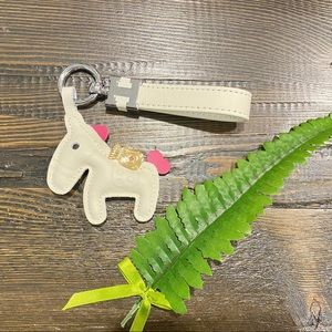 💥CUTE💥Hermes inspired Real leather Pony keychain